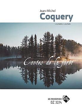 Contes de la forêt Jean-Michel Coquery Partition laflutedepan