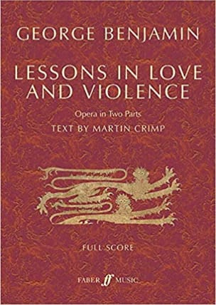 Lessons in Love and Violence George Benjamin Partition laflutedepan