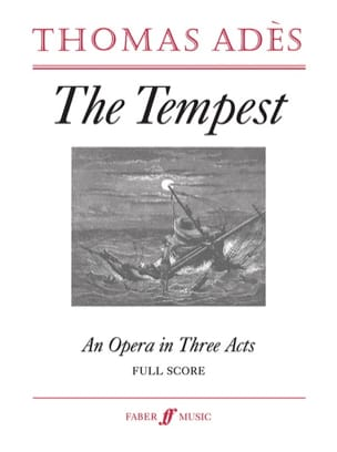 Thomas Ades - The Tempest, op. 22 - Partition - di-arezzo.fr