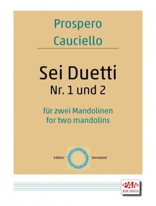 Sei Duetti Nr 1 et Nr 2 - Prospero Cauciello - laflutedepan.com