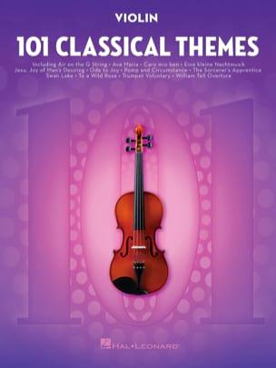101 Classical Themes for Violin - Sheet Music - di-arezzo.com
