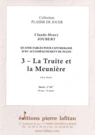 La truite et la meunière Claude-Henry Joubert Partition laflutedepan