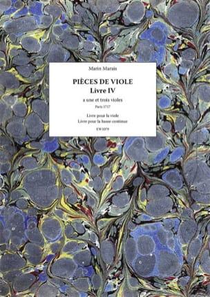 Marin Marais - Pieces of Viola - Book 4 - Partition - di-arezzo.com