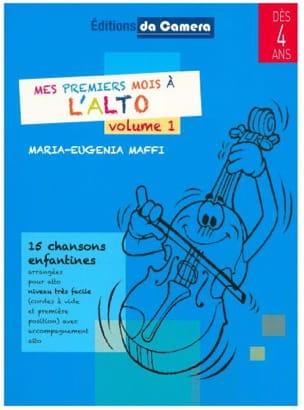 Mes premiers mois à l'Alto - Volume 1 Maria-Eugenia Maffi laflutedepan