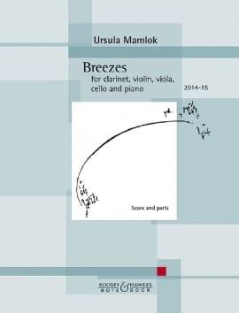 Breezes Ursula Mamlok Partition Quintettes - laflutedepan