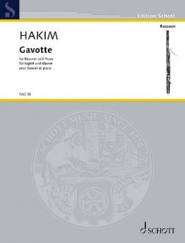 Naji Hakim - Gavotte - Sheet Music - di-arezzo.com