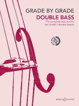 Grade by Grade 2 - Double Bass Partition Contrebasse - laflutedepan
