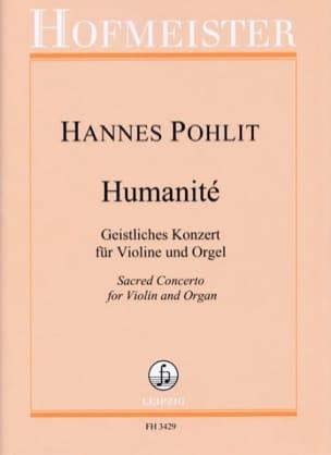 Humanité - Hannes Pohlit - Partition - Violon - laflutedepan.com