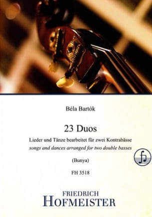 Béla Bartok - 23 Duos - Sheet Music - di-arezzo.co.uk