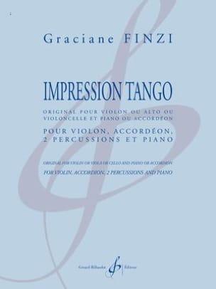 Impression Tango Graciane Finzi Partition Quintettes - laflutedepan