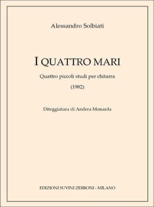 I Quattro Mari - Alessandro Solbiati - Partition - laflutedepan.com