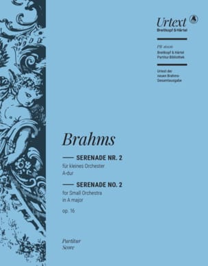 Sérénade n° 2, op. 16 - BRAHMS - Partition - laflutedepan.com
