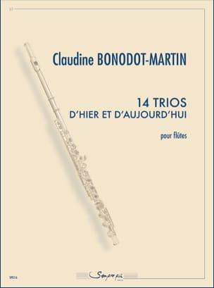 14 Trios d'hier et d'aujourd'hui Claudine Bonodot-Martin laflutedepan
