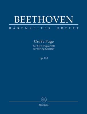 Ludwig van Beethoven - Great Fugue, op. 133 - Sheet Music - di-arezzo.co.uk