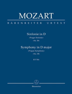 MOZART - Symphony No. 38 D-Dur Prague KV 504 - Partitur - Sheet Music - di-arezzo.com