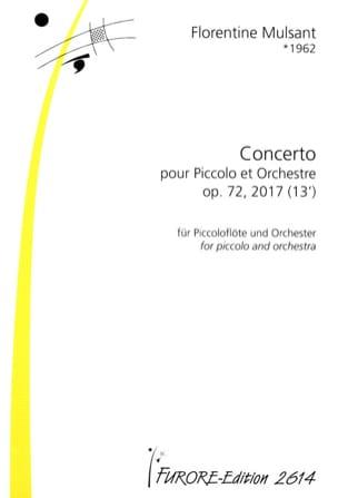 Concerto pour Piccolo, op. 72 n° 2 - Conducteur laflutedepan