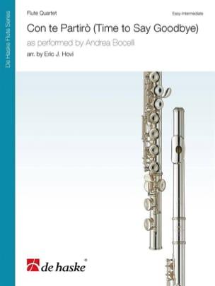 - Con te Partiro - 4 Flutes - Sheet Music - di-arezzo.co.uk