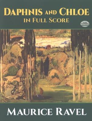 Daphnis et Chloé RAVEL Partition Grand format - laflutedepan