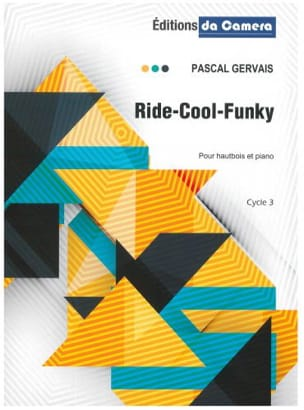 Ride-Cool-Funky Pascal Gervais Partition Hautbois - laflutedepan