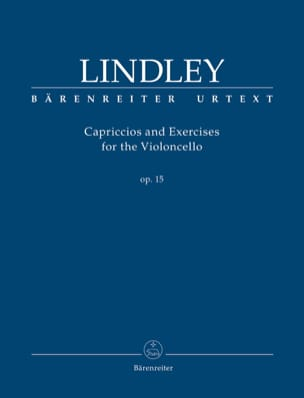 Robert Lindley - Capriccios y Ejercicios - Cello - Partitura - di-arezzo.es