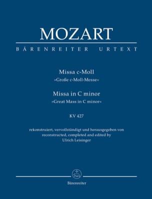 Messe Kv 427 Wolfgang Amadeus Mozart Partition laflutedepan