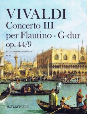 Concerto III, opus 44/9 - VIVALDI - Partition - laflutedepan.com