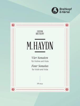 Michael Haydn - 4 sonatas - violín y viola - Partitura - di-arezzo.es