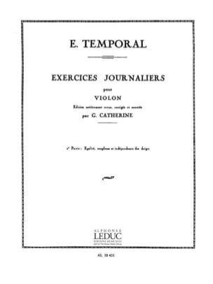 E. Temporal - Ejercicios diarios - Volumen 2 - Partitura - di-arezzo.es