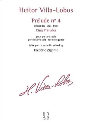 Heitor Villa-Lobos - Prelude N ° 4 - Sheet Music - di-arezzo.co.uk