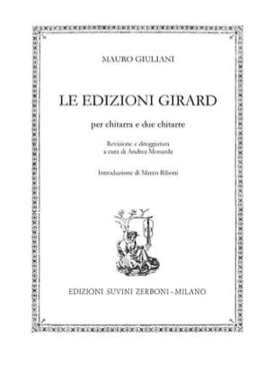 Le Edizioni Girard Mauro Giuliani Partition Guitare - laflutedepan