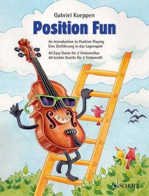 Position Fun Gabriel Koeppen Partition Violoncelle - laflutedepan