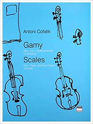 Antoni Cofalik - Scales - Sheet Music - di-arezzo.com