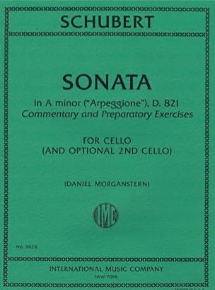 Franz Schubert - Arpeggione D. 821 Sonata - Sheet Music - di-arezzo.com