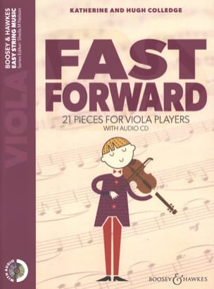Fast Forward - Viola Katherine & Hugue Colledge Partition laflutedepan