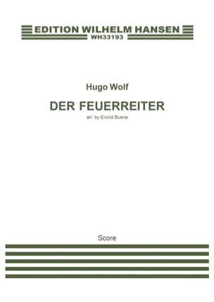 Der Feuerreiter Hugo Wolf Partition Grand format - laflutedepan