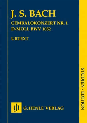 Concerto n° 1, BWV 1052 Johann Sebastian Bach Partition laflutedepan