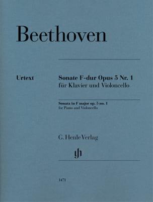 Ludwig van Beethoven - Sonate, opus 5 n ° 1 - Partition - di-arezzo.de