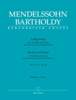 Lobgesang (Symphonie n° 2), opus 52 laflutedepan