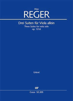 Max Reger - 3 Suites op. 131d - Sheet Music - di-arezzo.com