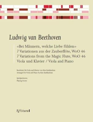 Ludwig van Beethoven - Bei Männern .., 7 Variations - Sheet Music - di-arezzo.co.uk