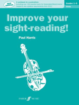 Paul Harris - Improve your Sight-reading ! - Viola - Partition - di-arezzo.fr