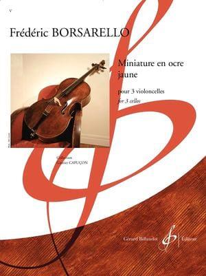 Frédéric Borsarello - Miniature in yellow ocher - Sheet Music - di-arezzo.com