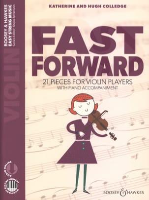 Fast Forward - Violín y piano - Partition - di-arezzo.es
