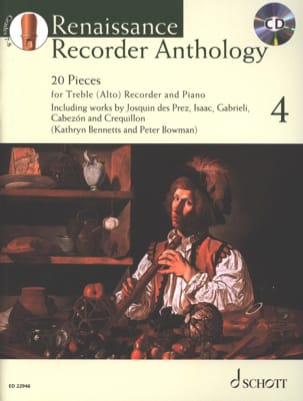 - Renaissance Recorder Anthology - Vol. 4 - Sheet Music - di-arezzo.co.uk