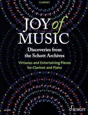 - Joy of Music - Clarinet - Sheet Music - di-arezzo.co.uk