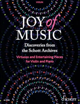 - Joy of Music - Violin - Sheet Music - di-arezzo.com