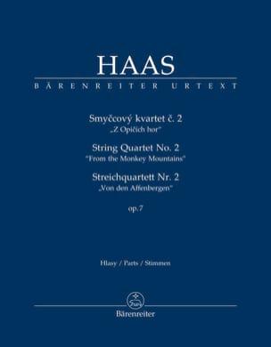 Quatuor à Cordes n° 2 - Parties séparées Pavel Haas laflutedepan