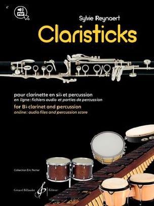Claristicks - Sylvie Reynaert - Partition - laflutedepan.com