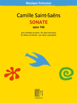 Camille Saint-Saëns - Sonate - Oboe and piano - Partition - di-arezzo.co.uk