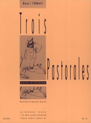 Henri Tomasi - 3 Pastorales - Partition - di-arezzo.fr